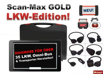Scan-Max GOLD LKW-Edition